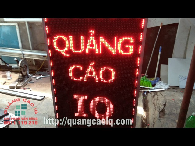 Làm biển quảng cáo đèn led tại hải phòng Quảng cáo IQ