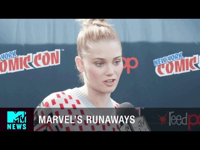 'Marvel's Runaways' Has 'The O.C.' 'Gossip Girl' Vibes | New York City Comic Con | MTV News