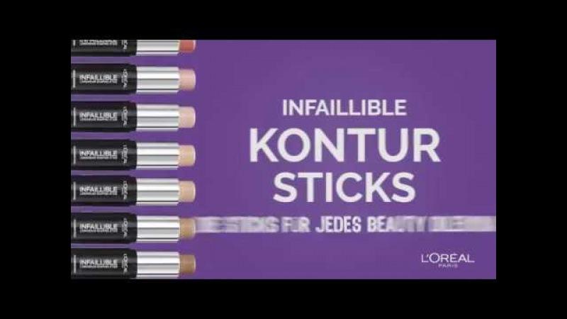 Fehlende Konturen? Die Infaillible Kontur-Sticks – für jedes Beauty Dilemma