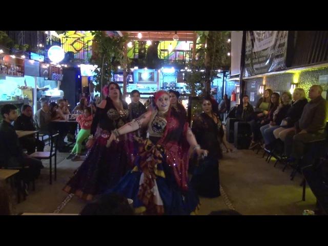 Gypsy Caravan Tribal Bellydance - Show Luna de Yule 2017 de Ghytiastudio
