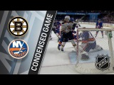 Boston Bruins vs New York Islanders  Jan. 18, 2018  Game Highlights  NHL 201718. Обзор матча