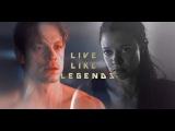 Takeshi + Quellcrist Live Like Legends