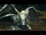 Dark Souls Sanctuary Guardian Страж Святилища - отрубаем хвост Мантикоре (HD)