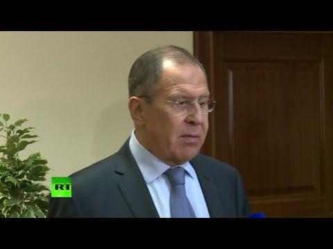 Пресс подход Лаврова по итогам заседания СМИД СНГ в Минске