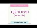 ЦВЕТОТИП ВНЕШНОСТИ №4 Определяем цветотип по методу Анны Назаровой продолжение