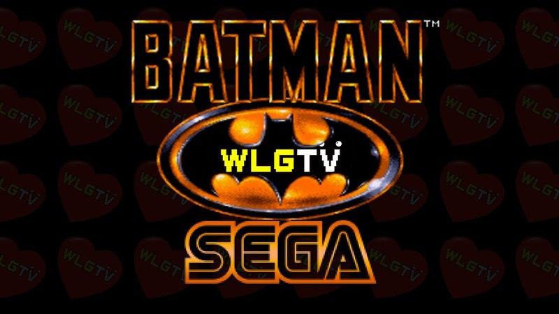 Batman на Sega Genesis. Прохождение от WelovegamesTV.