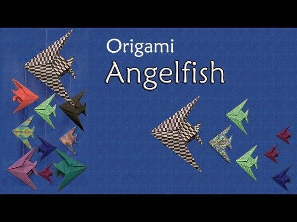 Origami Angelfish by John Montroll