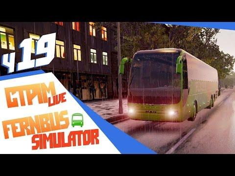 Стрим В пути осенним вечером - ч19 FernBus Simulator