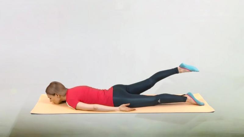 Гимнастика для лечения коленей, часть 2 - упражнения при артрозе коленных сустав