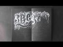 Отрисовка надписи пастельным карандашом