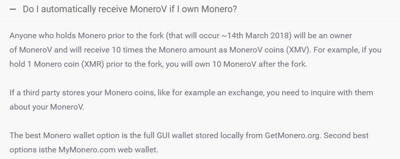 как получить Monero V