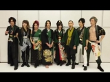 Wagakki band talk before concert in Yokohama Arena