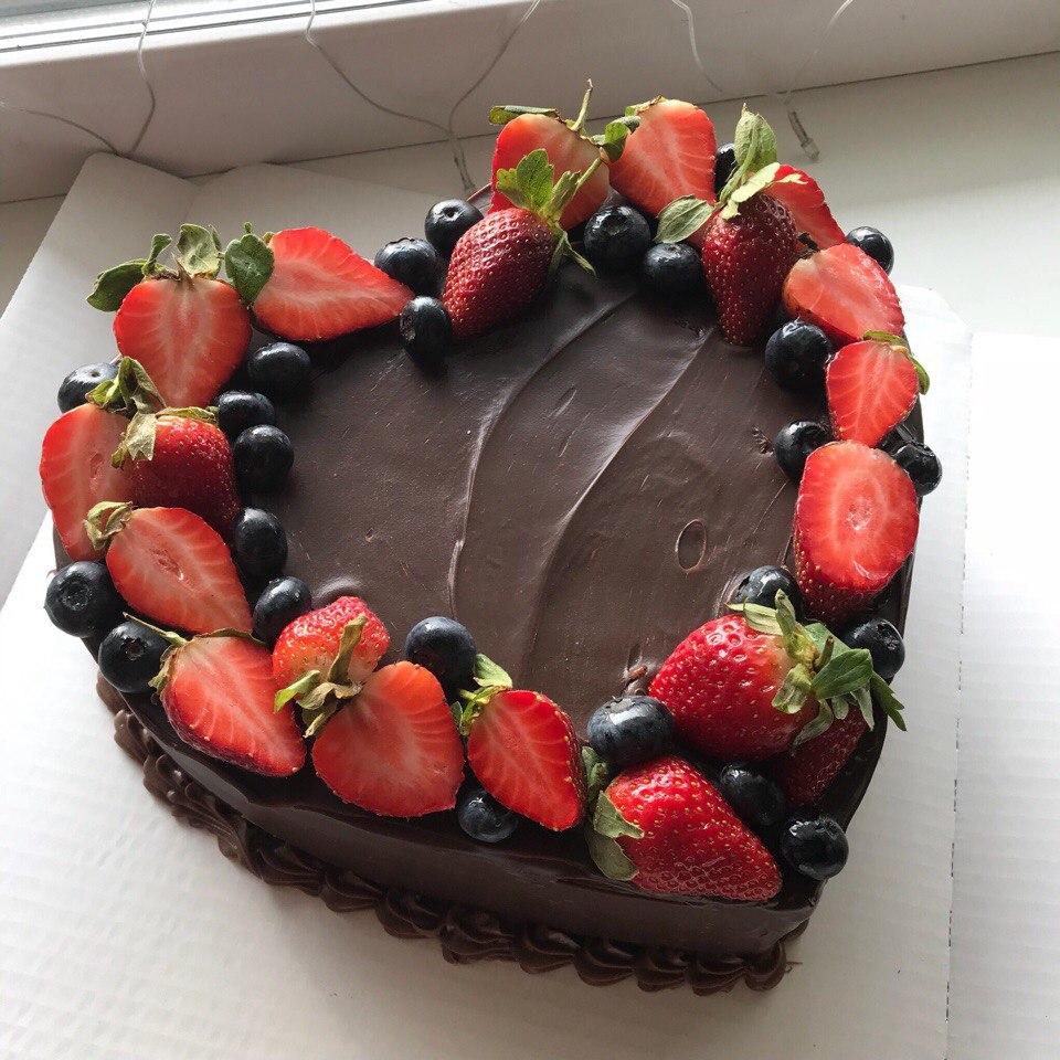 Торт в виде сердца (Арт. 30)