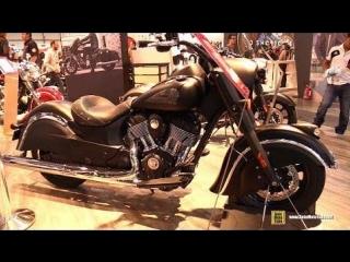 2018 indian chief dark horse - walkaround - 2017 eicma motorcycle exhibition