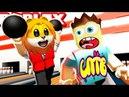 БОУЛИНГ КЛУБ в ROBLOX мультик игра СПТВ Детский летсплей Red Ball игровой мультфильм для детей