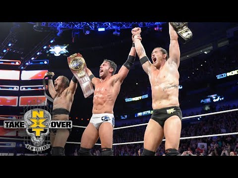 Roderick Strong shockingly joins forces with Undisputed ERA: NXT TakeOver: New Orleans (WWE Network)
