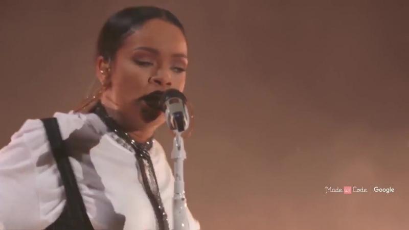 Rihanna Love On the Brain _ Live at Global Citizen Festival 2016