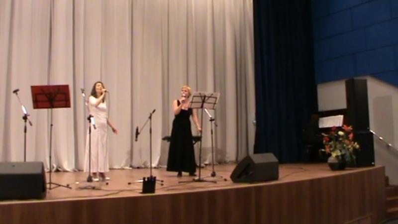 Концерт патриотической песни в г. Тосно. Летний садик