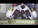 Победитель Розыгрыша квартиры в Белом хуторе принимает поздравления ЮУ КЖСИ и ХК Трактор