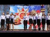 Концерт в День Победы.