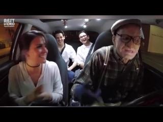 Реакция на рэп от водителя-дедушки