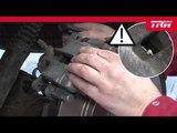 Инструкция по замене тормозных колодок на тормозном суппорте TRW