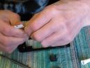 Ремонт Телефона LG - X145. Утопленник.Замена транзистора, резистора, три конденсатора. Зарядки питония, динамика. Чистка от окис