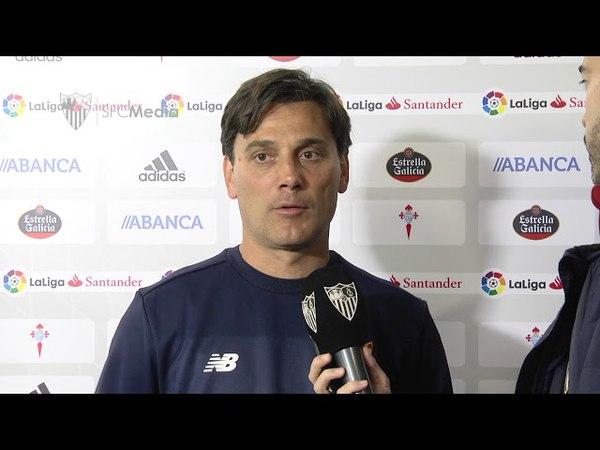Montella NO HEMOS ENCONTRADO TRANQUILIDAD TRAS EL GOL DE ELLOS 07 04 18 Sevilla FC