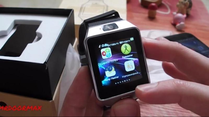 Обзор Smart Watch (SIM, microSD)