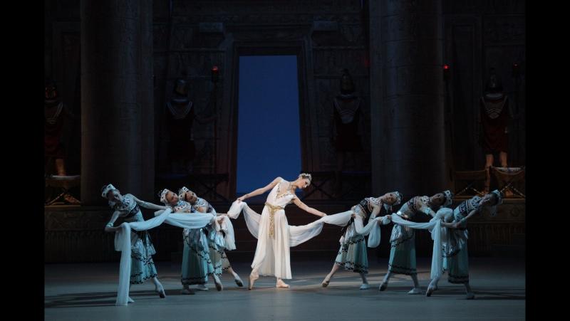 Балет Дочь фараона в Большом театре - Act.I