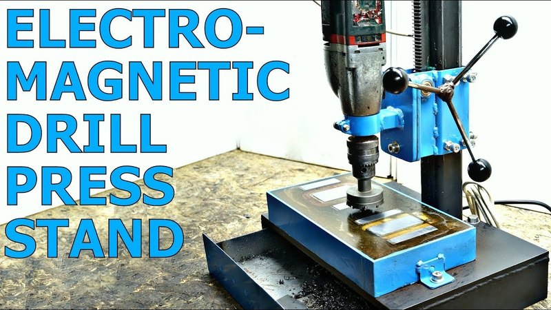 ELECTROMAGNETIC Drill Press Stand