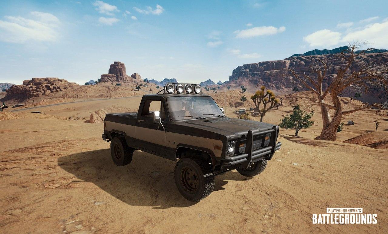Разработчики PUBG показали новый транспорт