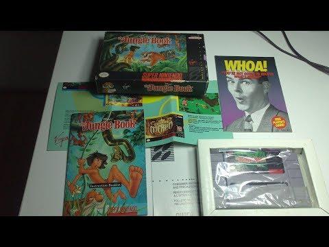 Распаковка геймплей игры Jungle Book на SNES