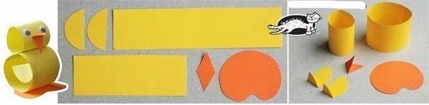 Объемные зверушки из простых бумажных полосок