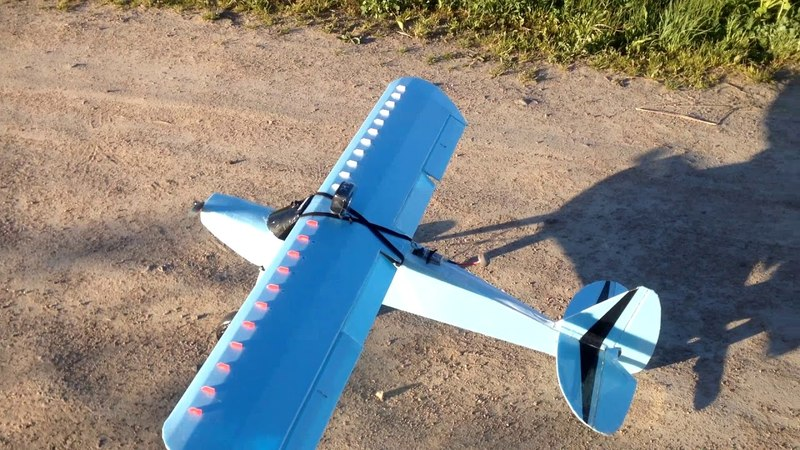 First fly Piper J3 Cub and Seabird long range Crash