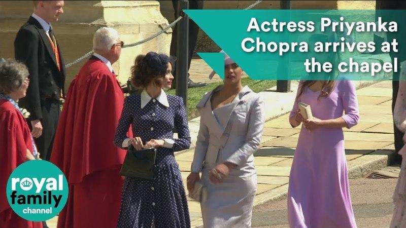 Королевская свадьба: Приянка Чопра прибывает