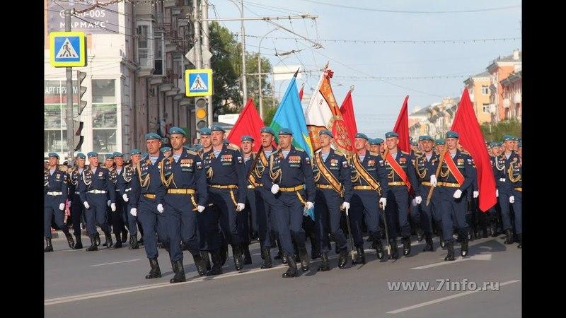Курсанты Рязанского десантного училища