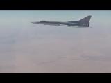 Дальние бомбардировщики Ту-22М3 нанесли авиаудар по объектам террористов в Сирии