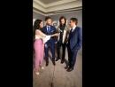 Прямая трансляция интервью Дженсена, Джареда и Миши с CW Upfronts 2018