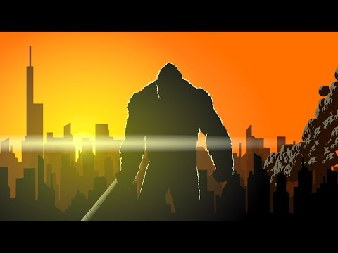 Godzilla vs. King kong Animated (Part 1/3)