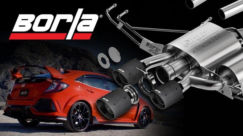 Honda Civic Type R 2018 | Borla Exhaust