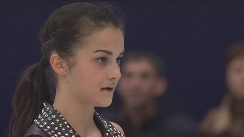 European Championships 2018 Ladies SP Ivett TOTH