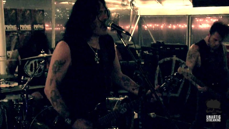 Prong Live at Manhattan Boat Cruise New York Oct 12 2012