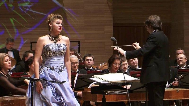 Marina Agafonova, Glinka, Romance, Глинка В крови горит огонь желанья