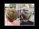 Осветление коротких волос- окрашивание блонд -- Bleaching short hair