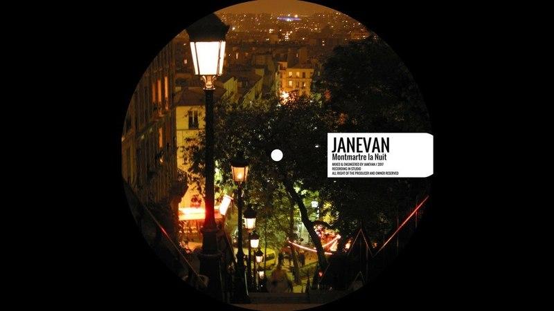 Janevan - Montmartre la Nuit