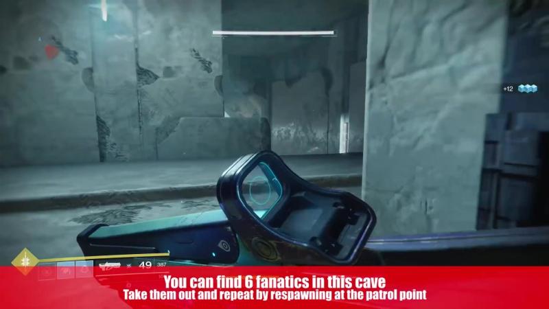 Destiny 2 Fast Way to FARM FANATIC VEX for Dawnings Gift Schematic Devrim