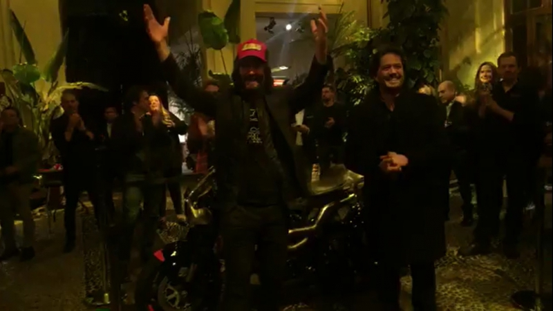 MilanoArchMotorcycle KeanuReeves tAmazing 08/11/2017г
