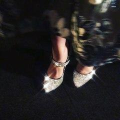 "Zooey Deschanel on Instagram: ""My precious!!!👠❤️✨✨"""