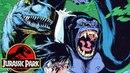 Gorilla vs Velociraptor! - Savage Velociraptor - Raptor Part 7 - Jurassic Park Comics